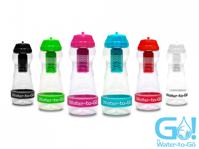 water to go bottles