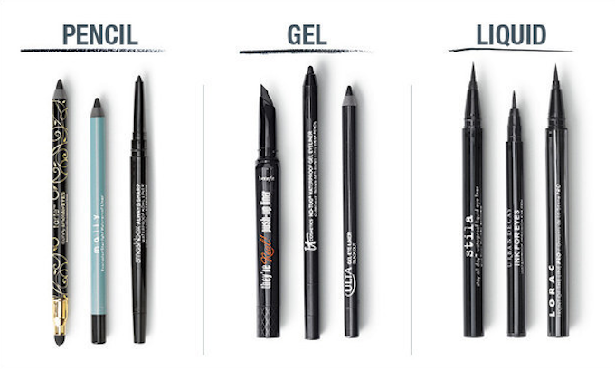 Know your eyeliners.