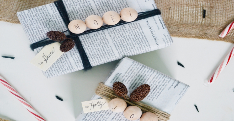 9 household alternatives to Christmas wrapping paper