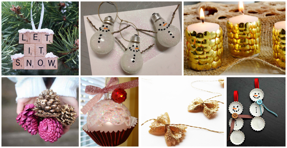 17 spectacular christmas decorations that are cheap easy for Easy at home christmas decorations
