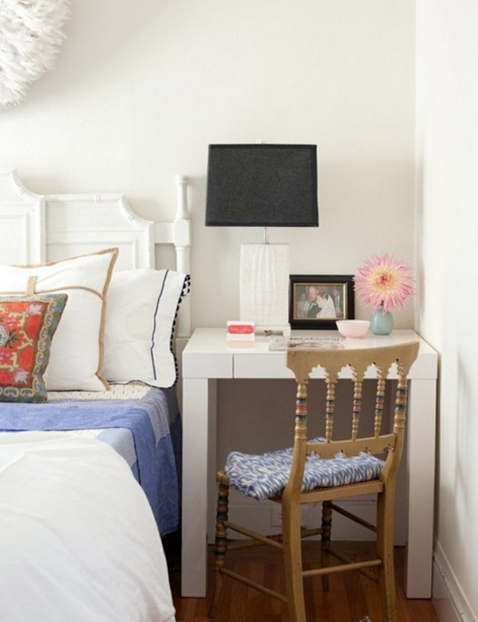 Beau 7. Double Your Desk Up As A Bed Side Table