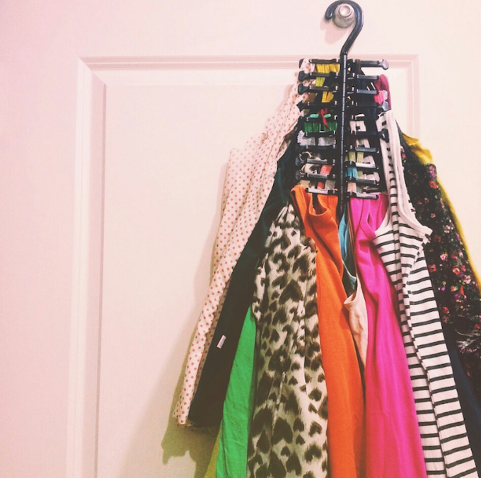 tie hanger storage solution