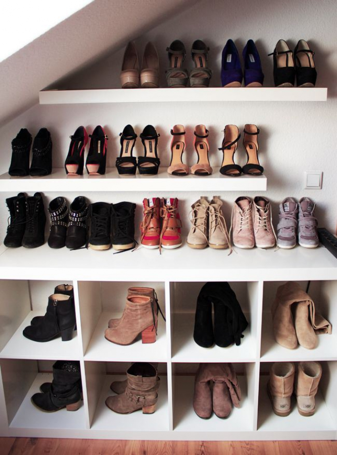 Store Your Shoes In Under Stairs Storage