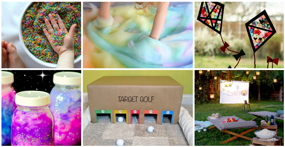 17 super fun ways to keep the kids busy at the weekend