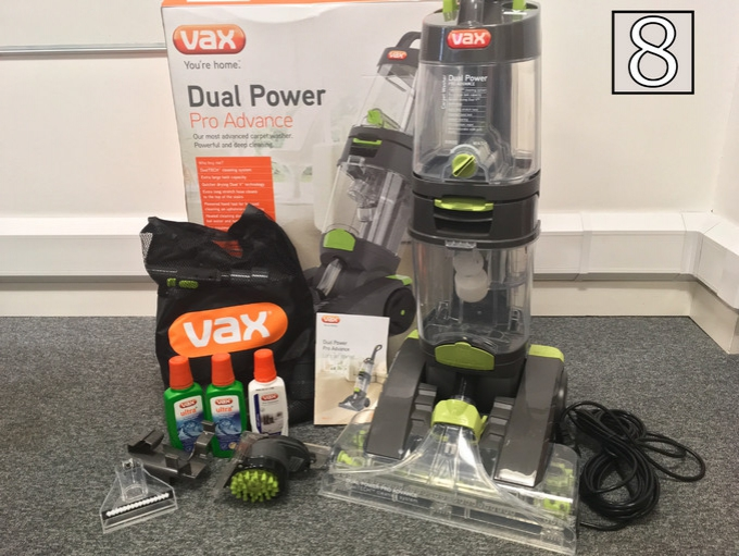 The Vax Dual Power Pro Advance