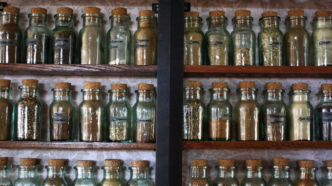 Have a look at your spice rack. Photo credit: TinyTall