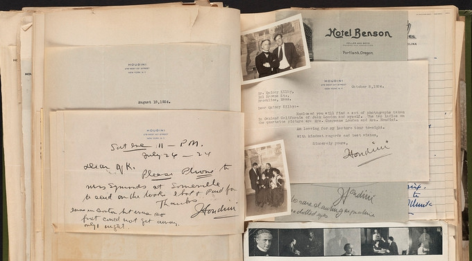 old diary photo album