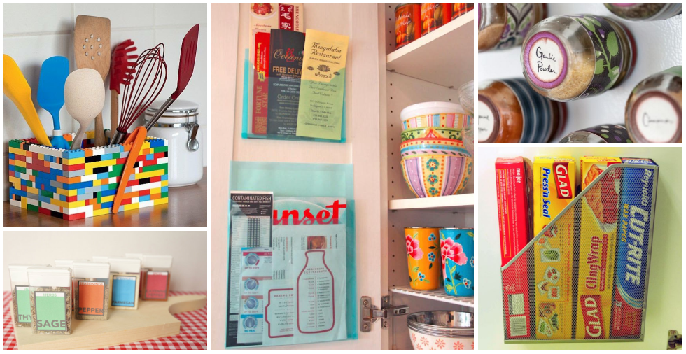 17 Genius Ways To Use Everyday Items To Organise Your