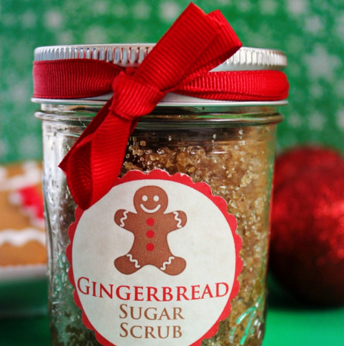 Gingerbread sugar scrub Cotton candy lip scrub - uses for sugar