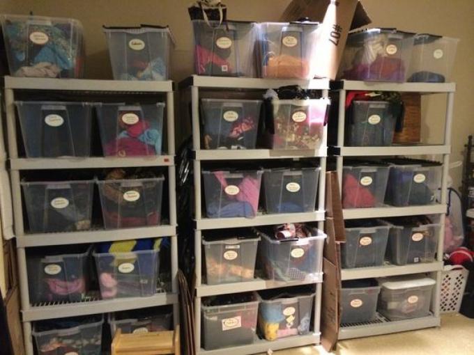 eBay storage