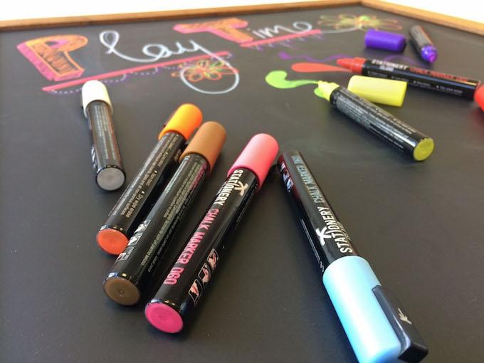 Chalk board pens
