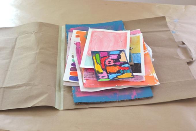 Paper bag portfolio