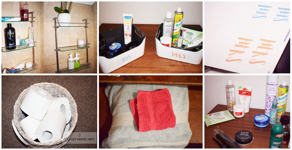 7 easy ways to declutter your bathroom for good!