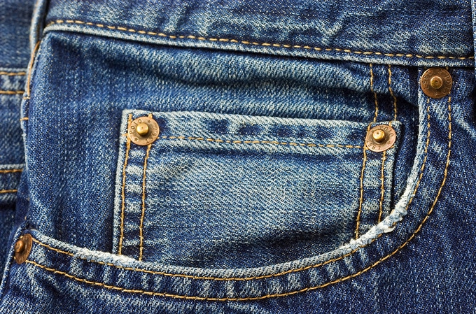 Don't over wash your denim - it only needs to be washed every 8-10 wears.