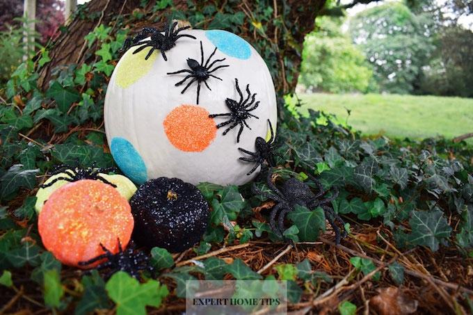 Glittery pumpkin