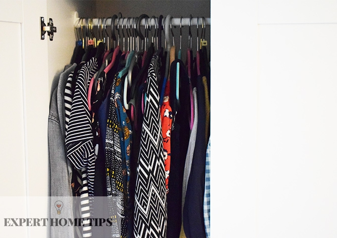 organise closet with extra hour