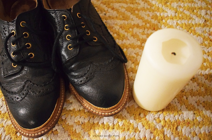 Shoes & Candle
