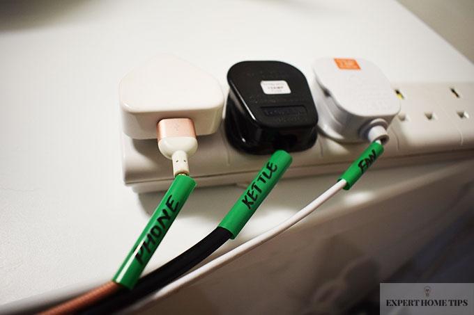 Straws around wires