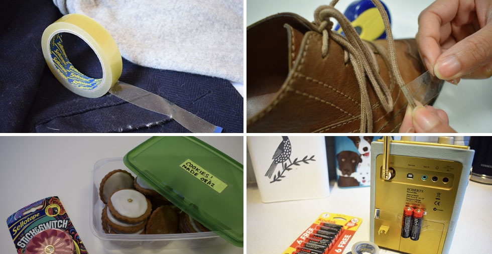 23 brilliant everyday uses for Sellotape