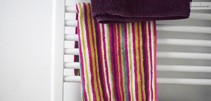 Bath towels are one of the germiest items in the home.