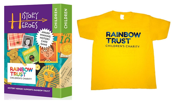 Rainbow Trust Children's Charity merchandise