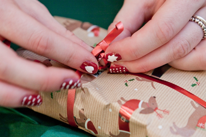 Rainbow Trust Children's Charity gift wrapping