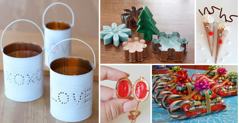 15 quick and easy last minute DIY Christmas gifts