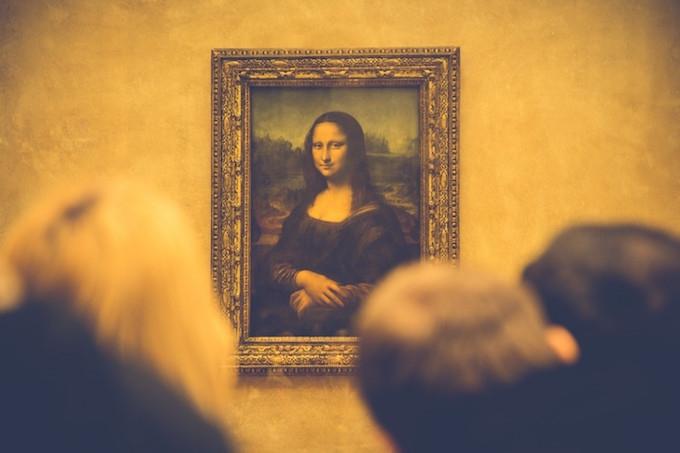 Valentines museum idea: mona lisa