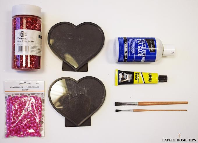 Valentine's DIY supplies