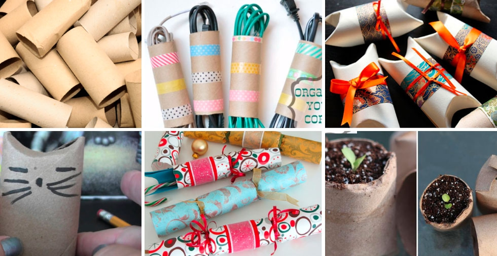7 pretty and practical uses for toilet roll tubes