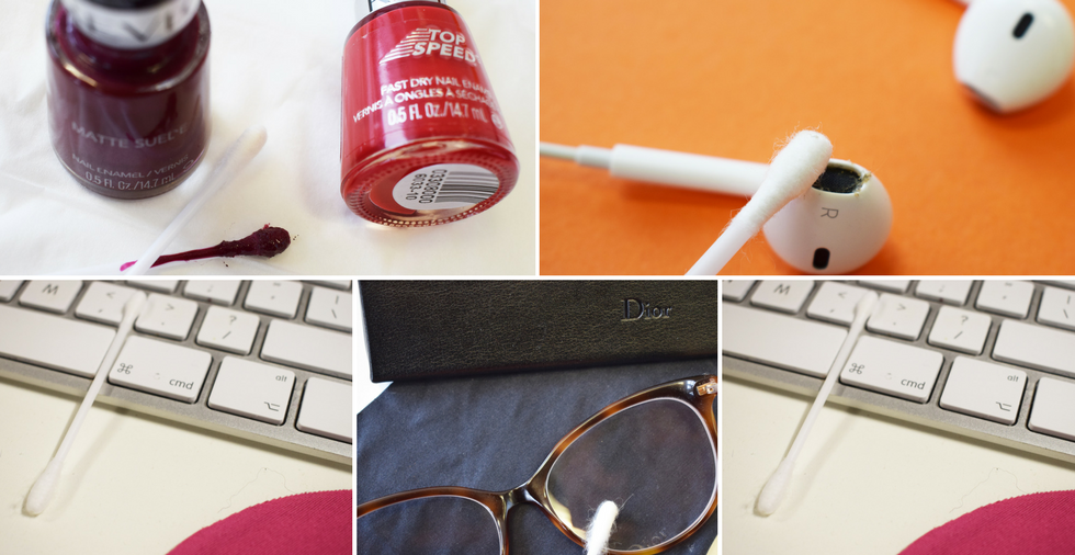 18 new, everyday uses for cotton buds - not to be missed!