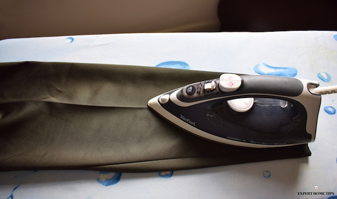 ironing tailored trousers