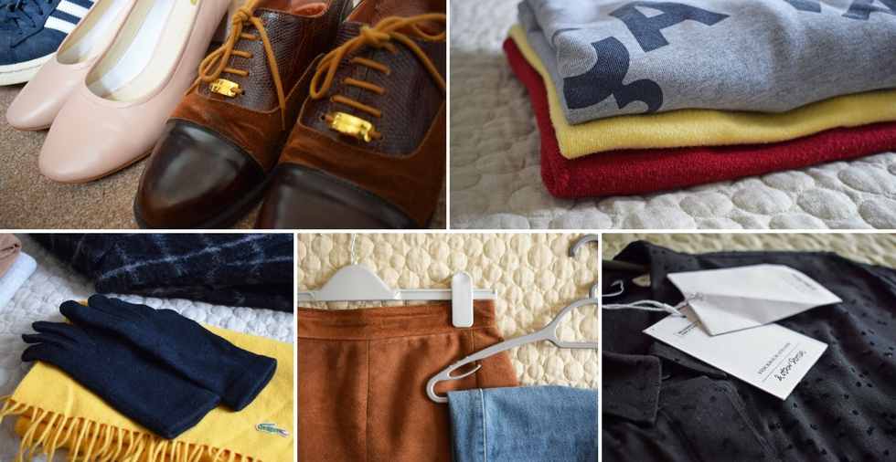 How to organise your wardrobe in 5 easy steps