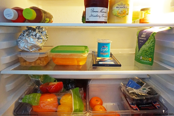 keep your fridge clean to make food last longer