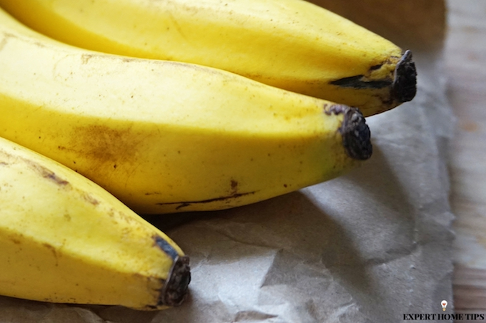 slow down ripening of bananas to make them last longer