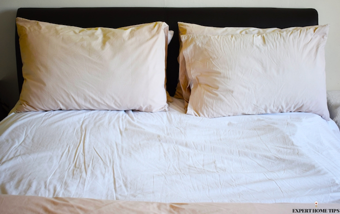 making your bed is a cleaning mistake