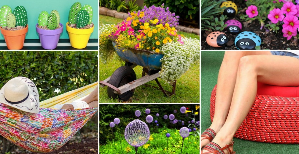 14 easy & cheap ideas that will TRANSFORM your garden