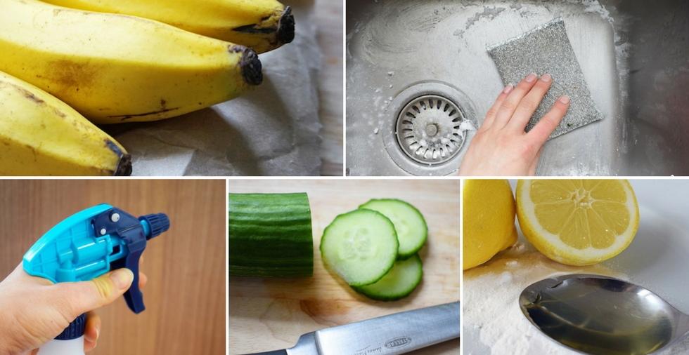 19 foods that make surprisingly excellent cleaning products