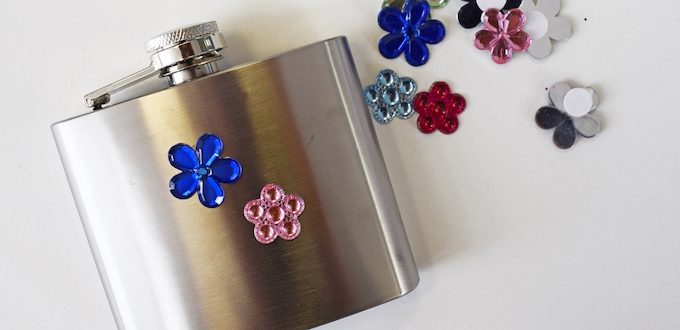 how to customise your hipflask