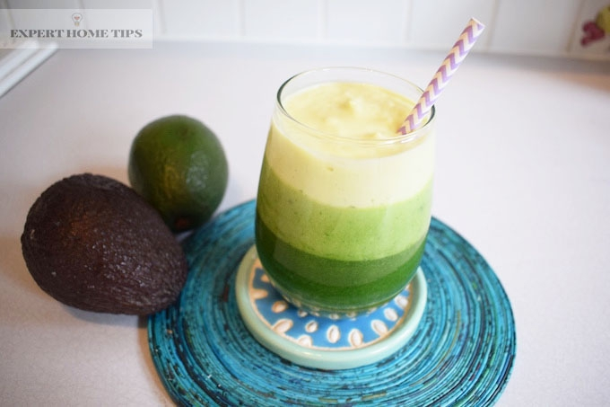 avocado smoothie for healthy skin