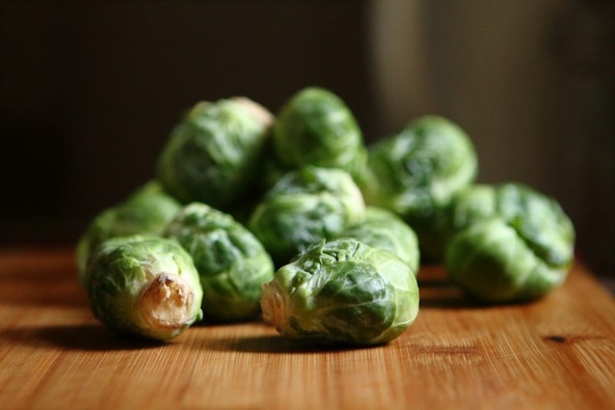 brussel sprouts high vitamin C to banish wrinkles