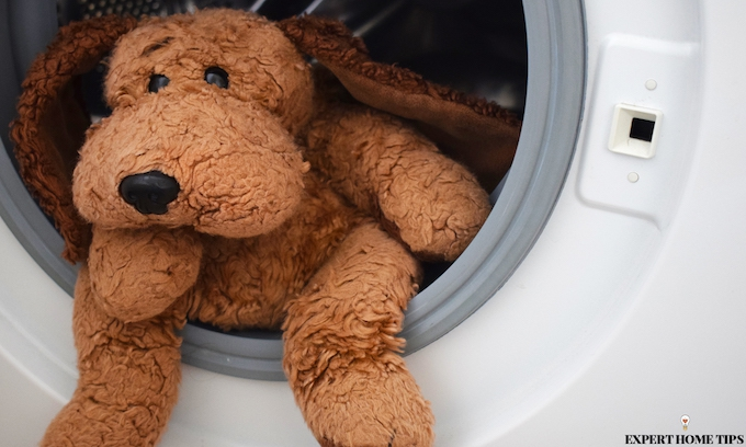 HOW TO CLEAN TEDDY BEARS IN THE WASHING MACHINE.