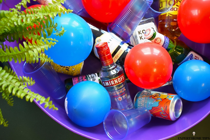BALLOON ICE CUBES FOR PARTY DRINKS