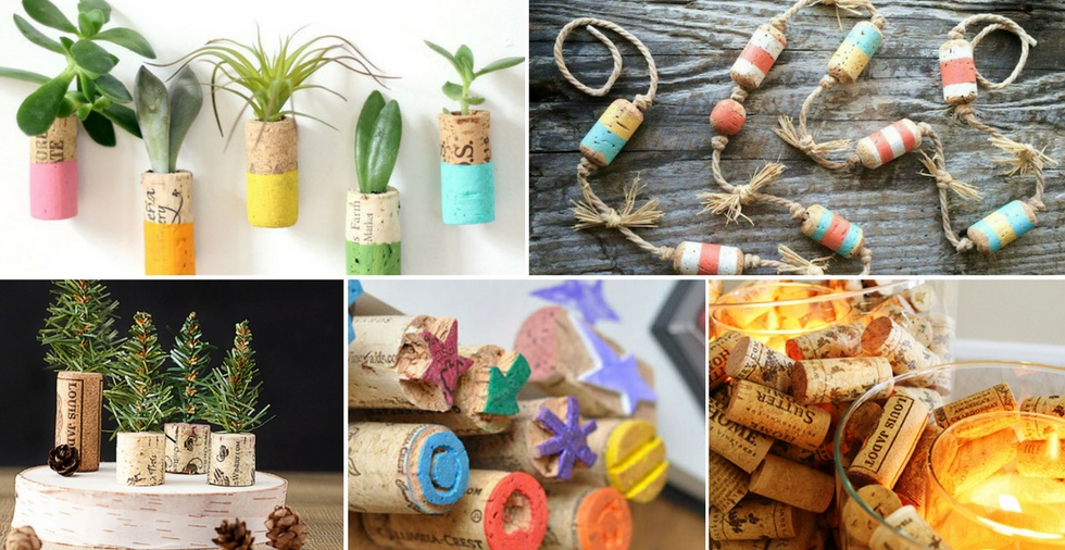 15 clever ways to use your old wine corks - cheers!