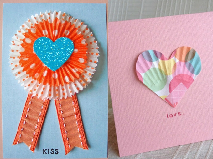 CUPCAKE CASES CARDS