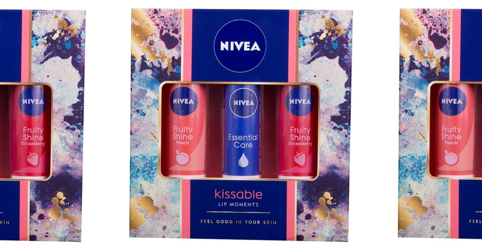 Free Giveaway: Nivea Kissable Lip Moments Gift Set