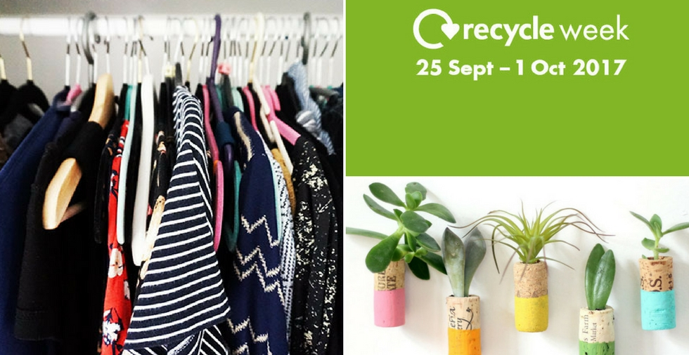 Get inspired for Recycle Week 2017