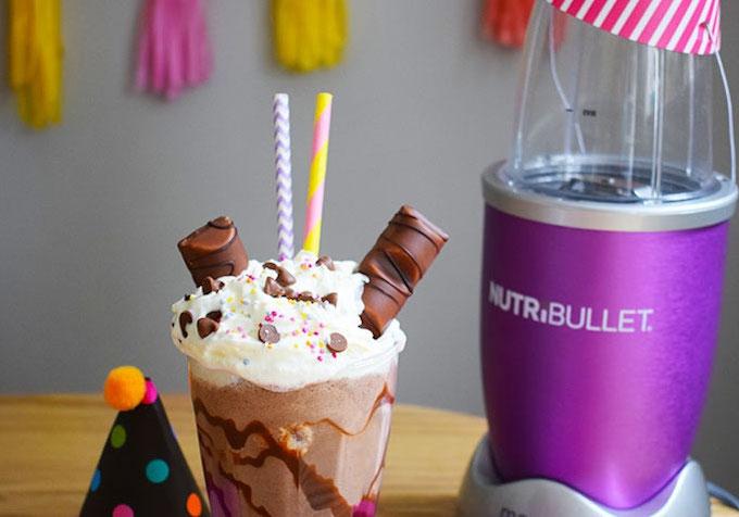 Naughty nutribullet milkshake