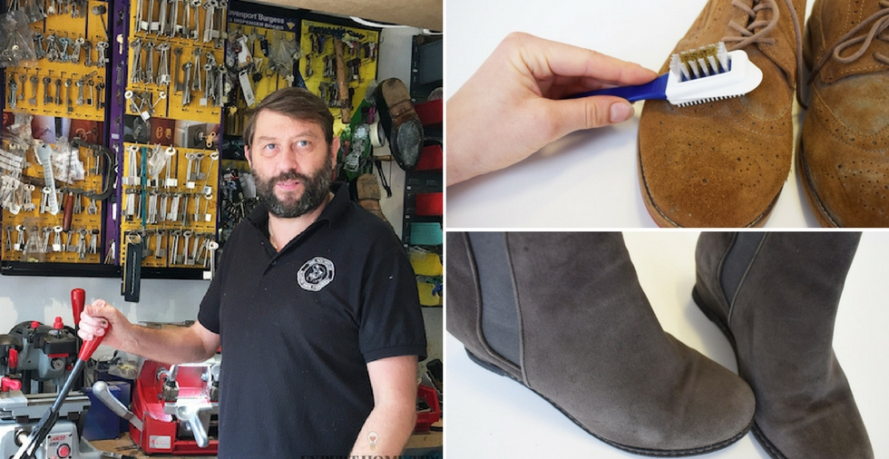 How to clean suede shoes - expert advice from our Cobbler