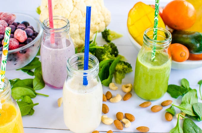 Kids smoothie recipes with vegetables